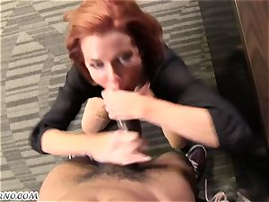 warm mature Madame Veronica Avluv operates its employee