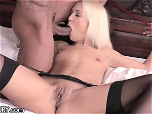 cuckold Cecilia has zeal for Neighbors giant beef whistle