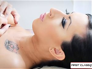 FirstClassPOV- Lily blow a massive beef whistle and work your ballsack