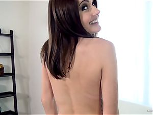 Adria Rae gets carried away at a beautiful casting session
